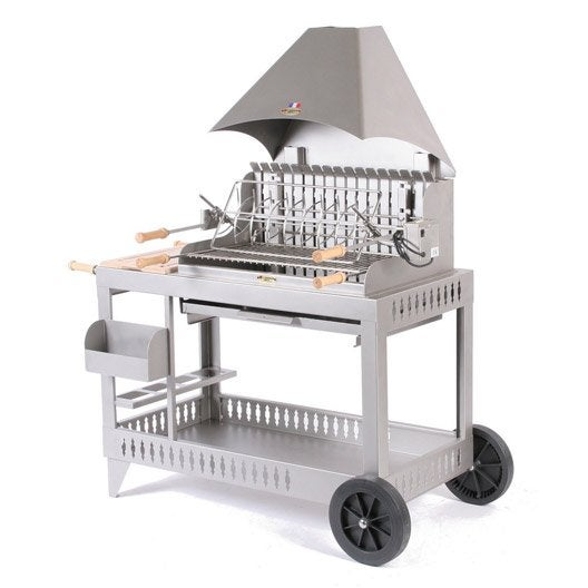 barbecue au charbon de bois lemarquier isturitz leroy merlin. Black Bedroom Furniture Sets. Home Design Ideas