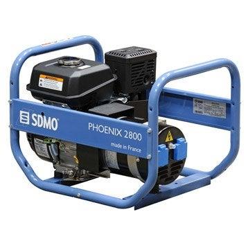 Groupe électrogène essence de chantier SDMO Phoenix 2800, 3000 W