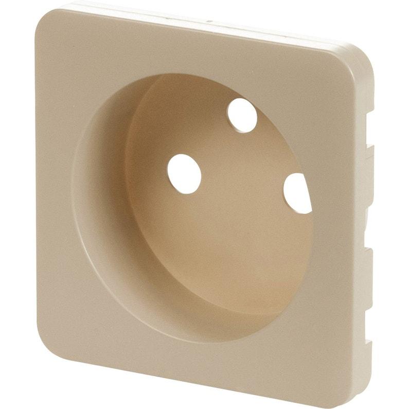 cache prise avec terre cosy lexman gris dor n 5 mat. Black Bedroom Furniture Sets. Home Design Ideas