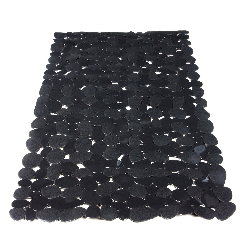 tapis antid rapant gris pour baignoire stone sensea. Black Bedroom Furniture Sets. Home Design Ideas