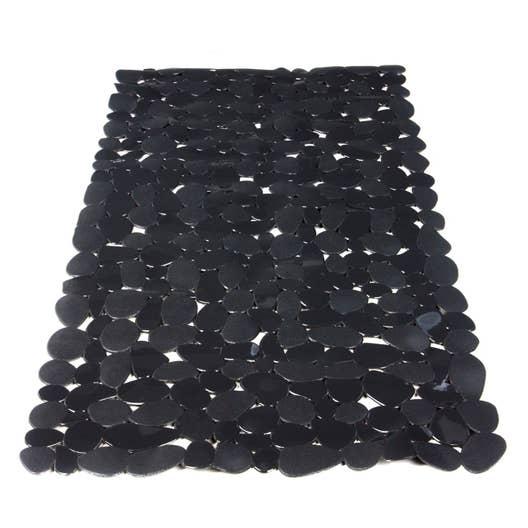 Tapis Salle De Bain H&M ~ tapis antid rapant gris pour baignoire stone sensea leroy merlin