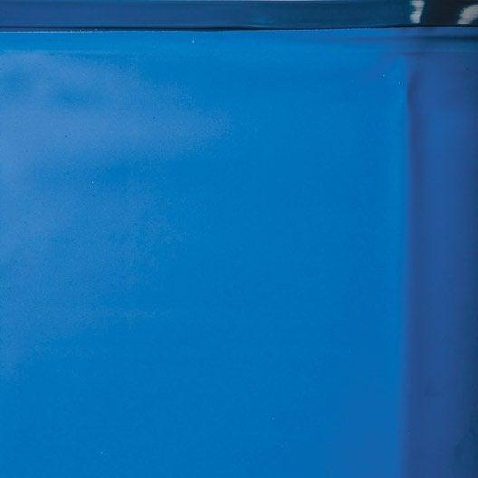 Liner uni gre l 360 x l 130 cm leroy merlin for Liner piscine hors sol leroy merlin