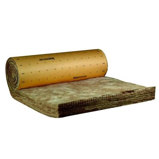 rouleau de laine de verre mm r 7 knauf. Black Bedroom Furniture Sets. Home Design Ideas