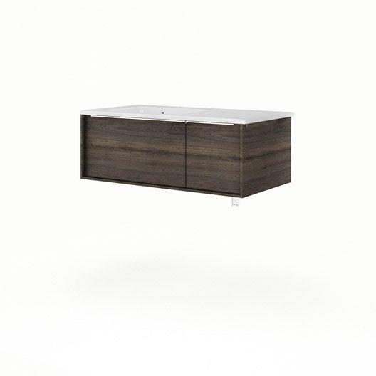 meuble vasque 90 cm neo frame leroy merlin. Black Bedroom Furniture Sets. Home Design Ideas
