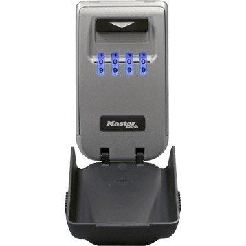 Minicoffre MASTERLOCK Select access à fixer, H.12 x l.7.2 x P.5.4 cm