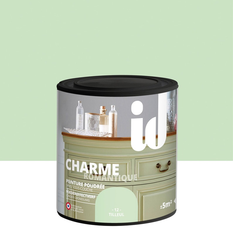 Peinture Pour Meuble Objet Et Porte Poudré Id Charme Tilleul
