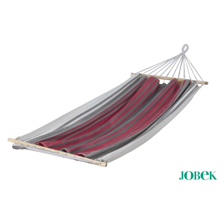 toile de hamac miss brasil jobek rouge gris cru. Black Bedroom Furniture Sets. Home Design Ideas