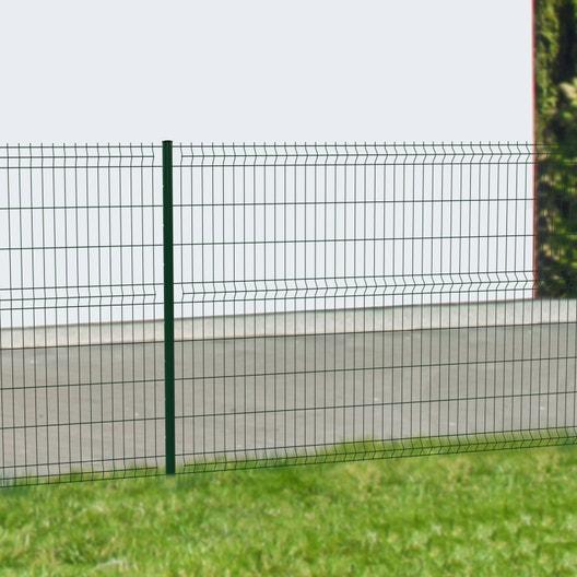 grillage panneau soud naterial vert h x l maille 200x55mm leroy merlin. Black Bedroom Furniture Sets. Home Design Ideas