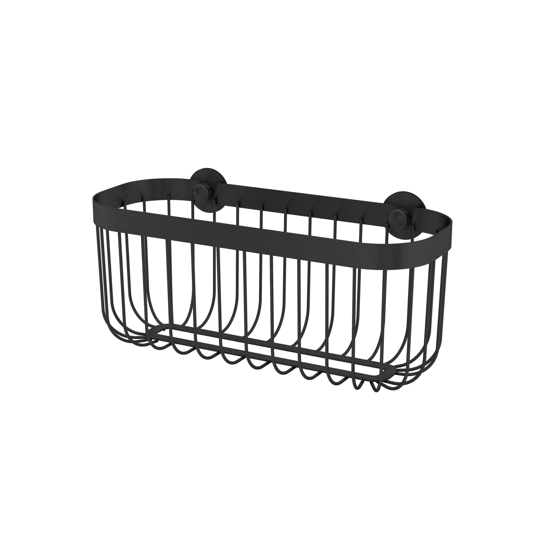 Panier de bain / douche à ventouser, black 0, Neo