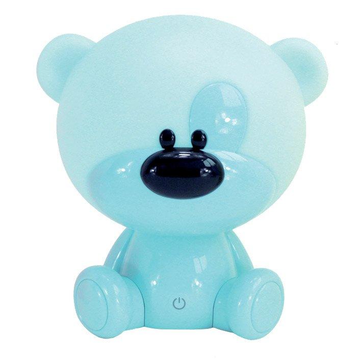 Lampe Veilleuse Enfant Pvc Bleu Tactile Seynave Nestor