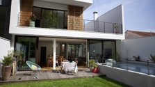Maison aux airs de paradis tropical