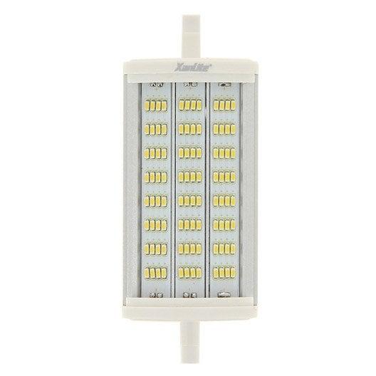 ampoule crayon led 10w xanlite r7s 118 mm lumi re douce. Black Bedroom Furniture Sets. Home Design Ideas