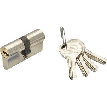 Cylindre de serrure 30+30 mm, 6 goupilles, STANDERS 6g
