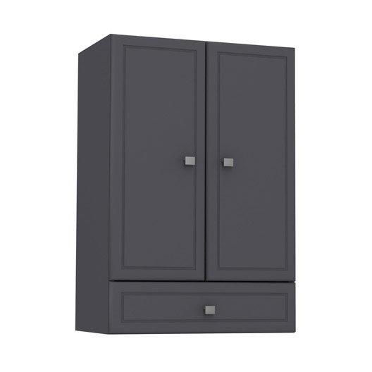 Best meuble haut galice gris lxhxpcm tiroir portes with - Joint plaque de cuisson leroy merlin ...
