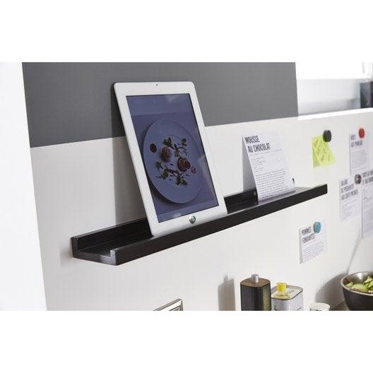 etag re pour cadre photo noir l 60 x p 9 cm mm. Black Bedroom Furniture Sets. Home Design Ideas