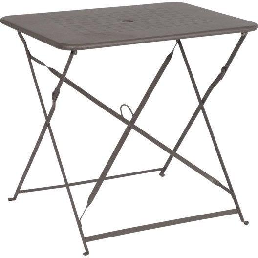 table de jardin capri rectangulaire vert 2 personnes. Black Bedroom Furniture Sets. Home Design Ideas