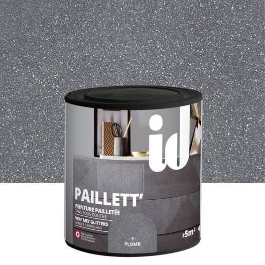 peinture pour meuble objet et porte paillet id paillett plomb 0 5 l leroy merlin. Black Bedroom Furniture Sets. Home Design Ideas