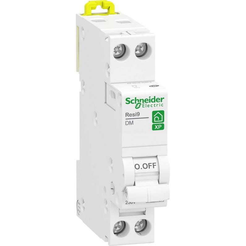 Disjoncteur Phase Neutre Schneider Electric 2 A