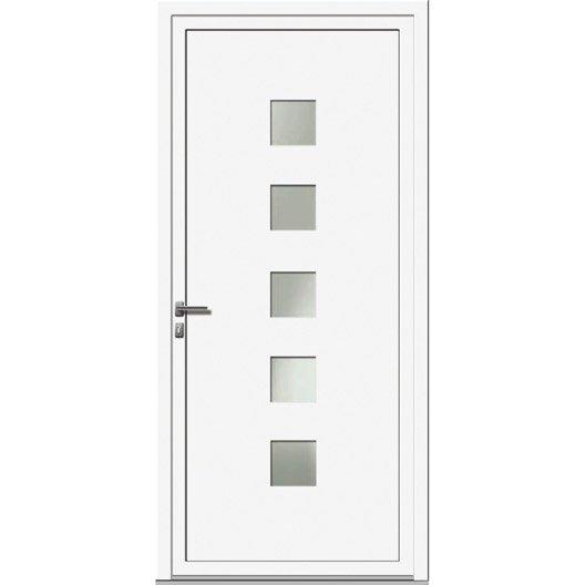 comment poser une porte d 39 entr e leroy merlin. Black Bedroom Furniture Sets. Home Design Ideas