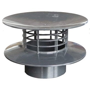 Chapeau de ventilation toiture charpente et bardage leroy merlin - Extracteur statique fosse septique ...