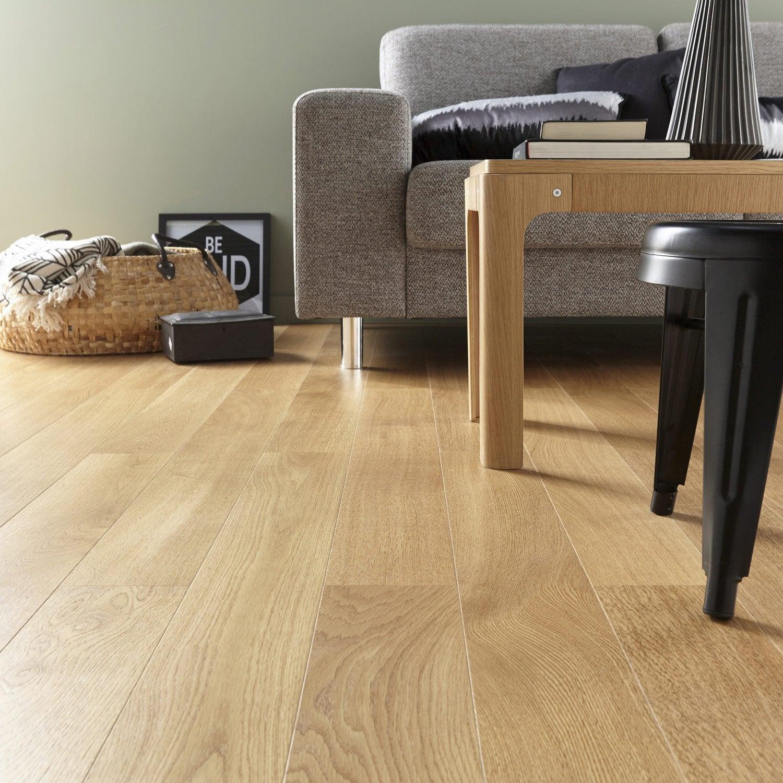 parquet contrecoll ch ne blond vitrifi l artens leroy merlin. Black Bedroom Furniture Sets. Home Design Ideas