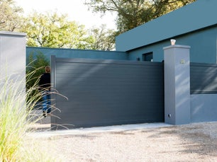 Portail sur mesure leroy merlin for Portail garage sur mesure