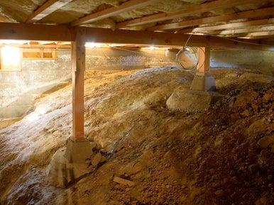 Cr er un vide sanitaire pour les r seaux leroy merlin - Vide sanitaire humide ...