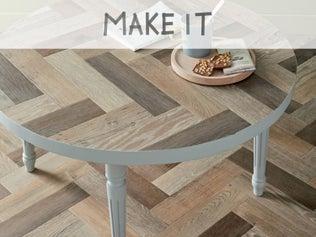 DIY : Fabriquer une table basse ronde