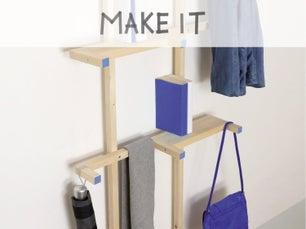 diy fabriquer un range parapluie en bois flott leroy merlin. Black Bedroom Furniture Sets. Home Design Ideas