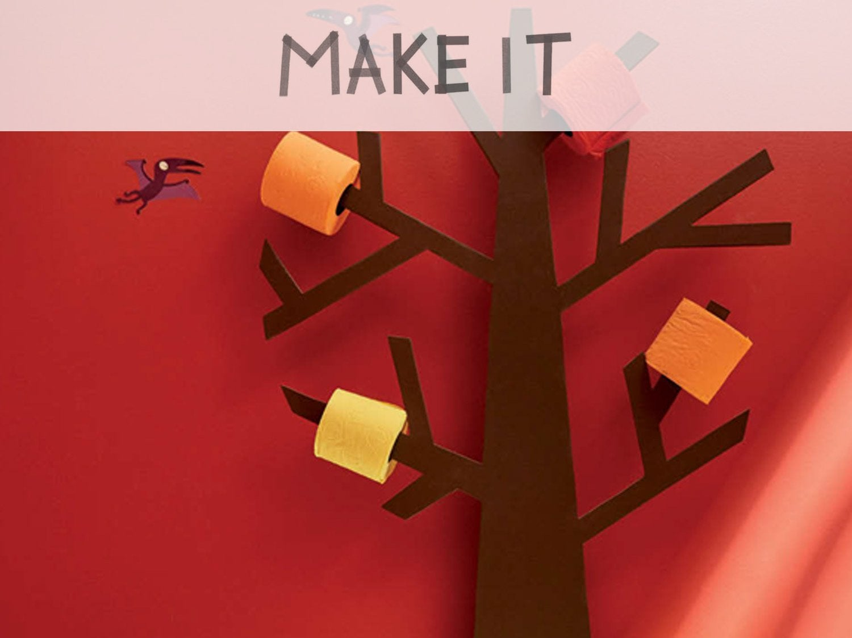 diy r aliser un arbre rouleaux leroy merlin. Black Bedroom Furniture Sets. Home Design Ideas