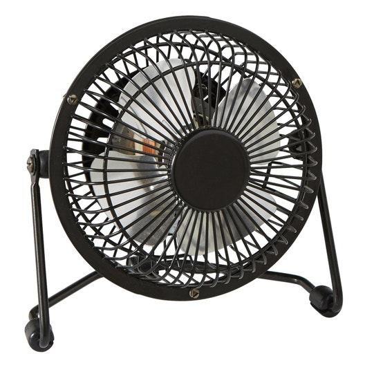 Mini Ventilateur De Bureau Lara Equation Noir