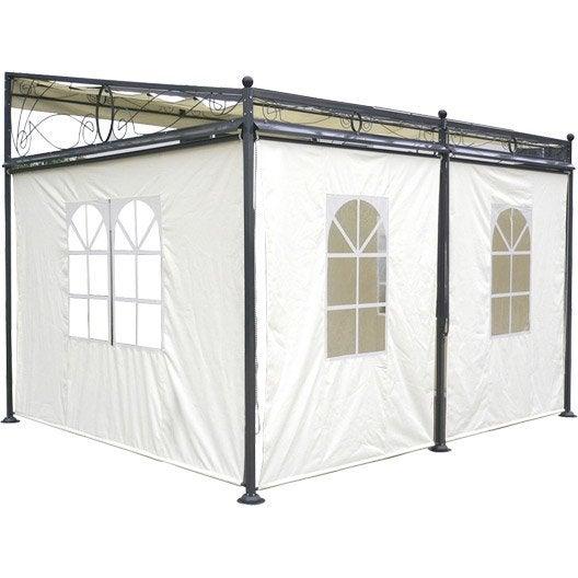 tonnelle murale sully 10 5 m leroy merlin. Black Bedroom Furniture Sets. Home Design Ideas