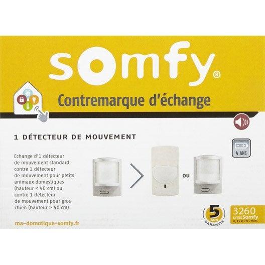 contremarque d 39 change pour 1 d tecteur de mouvement pour habitat animaux somfy leroy merlin. Black Bedroom Furniture Sets. Home Design Ideas