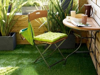 deco jardin avec gazon synthetique. Black Bedroom Furniture Sets. Home Design Ideas