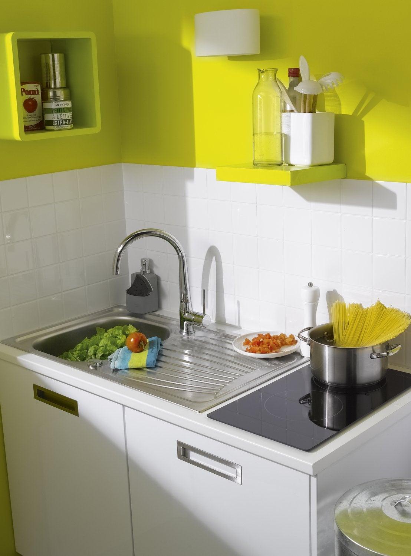 couleurs vitamin es dans la cuisine leroy merlin. Black Bedroom Furniture Sets. Home Design Ideas