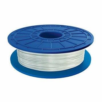 Bobine de filament blanc transparent PLA 1.75 mm DREMEL
