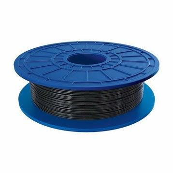 Bobine de filament noir PLA 1.75 mm DREMEL