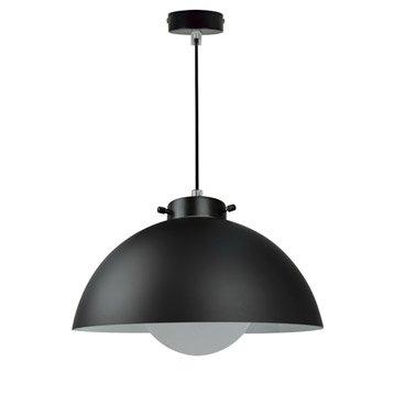 Suspension Design Kiruna verre noir 1 x 40 W INSPIRE