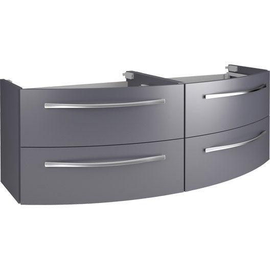meuble sous vasque x x cm image leroy merlin. Black Bedroom Furniture Sets. Home Design Ideas