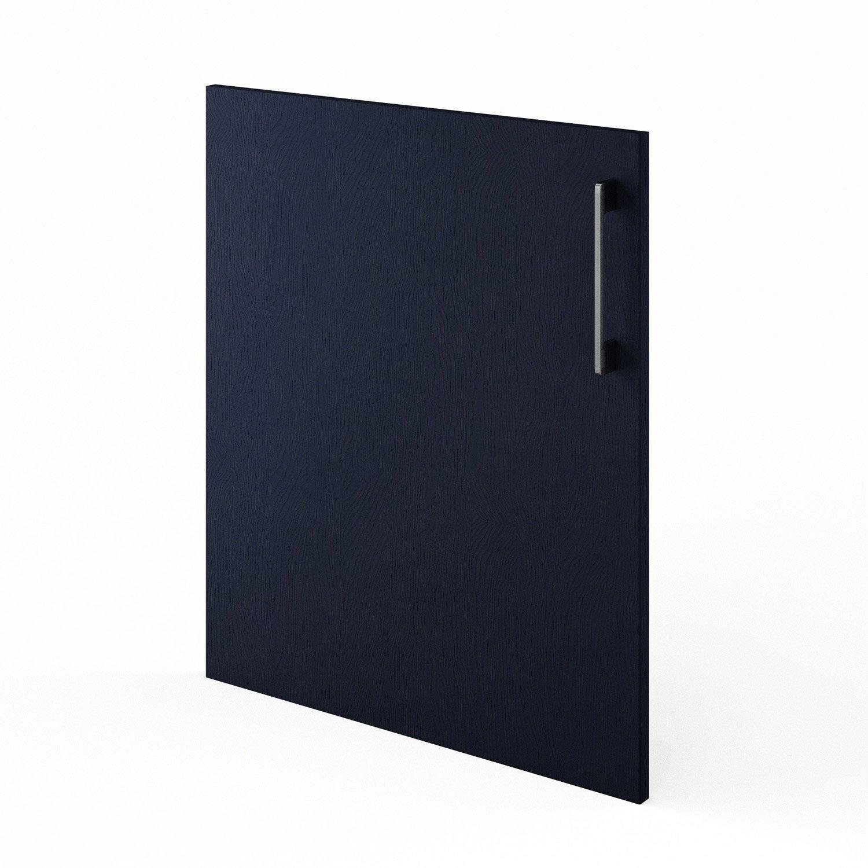 Porte De Cuisine Bleu Topaze L 60 X H 70 Cm Leroy Merlin