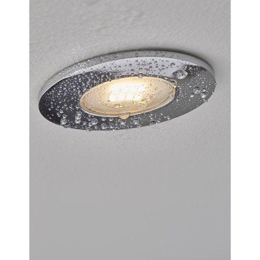 Kit 1 spot encastrer salle de bains integra fixe inspire for Spot encastrable led salle de bain