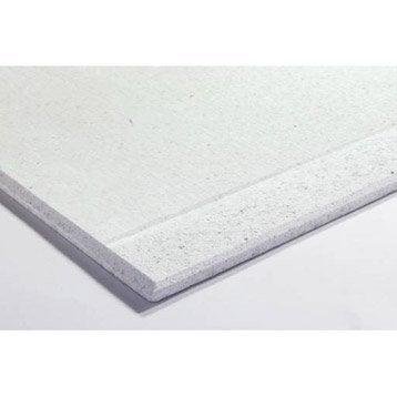 Plaque fibres-gypse FERMACELL bords amincis A2, H.2.5 x l.1.2 m, Ep. 12.5 cm