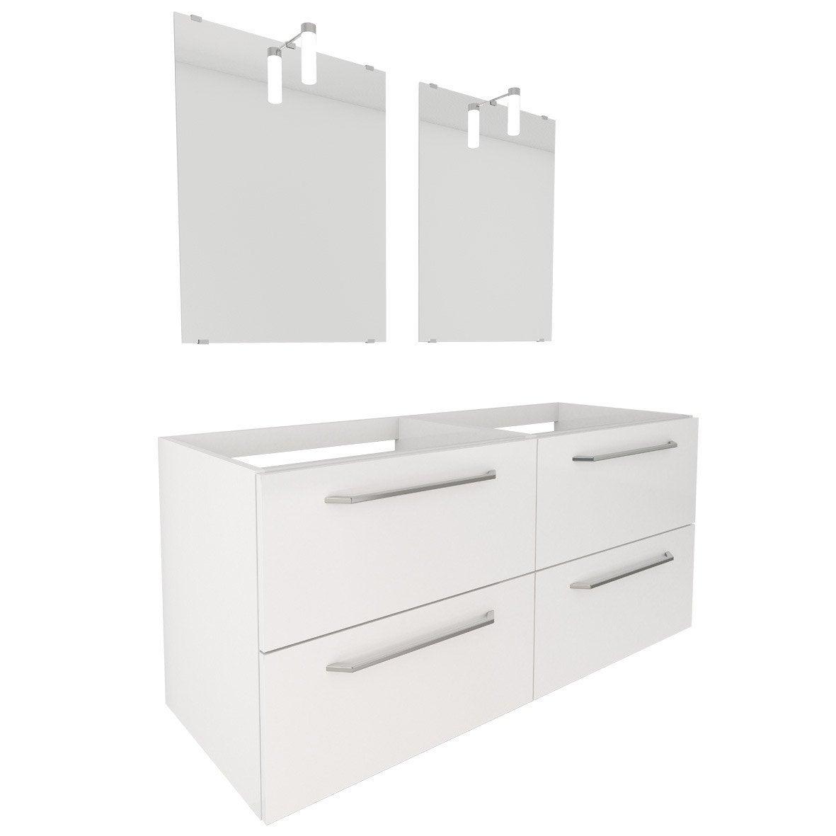 meuble sous vasque et miroir l 120 x h 64 x p 45 cm star Résultat Supérieur 17 Inspirant Meuble Miroir Photographie 2017 Zzt4