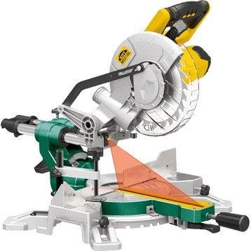 Scie à onglet radiale KITY MS261L, 216 mm, 1500 W