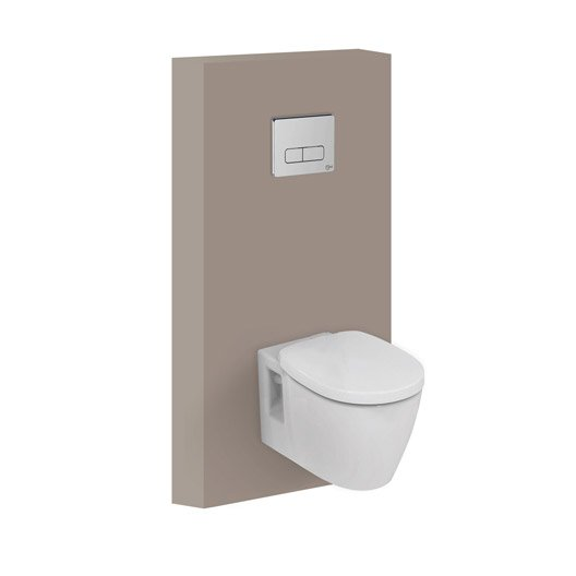 pack wc suspendu b ti universel ideal standard idealsoft sans bride leroy merlin. Black Bedroom Furniture Sets. Home Design Ideas