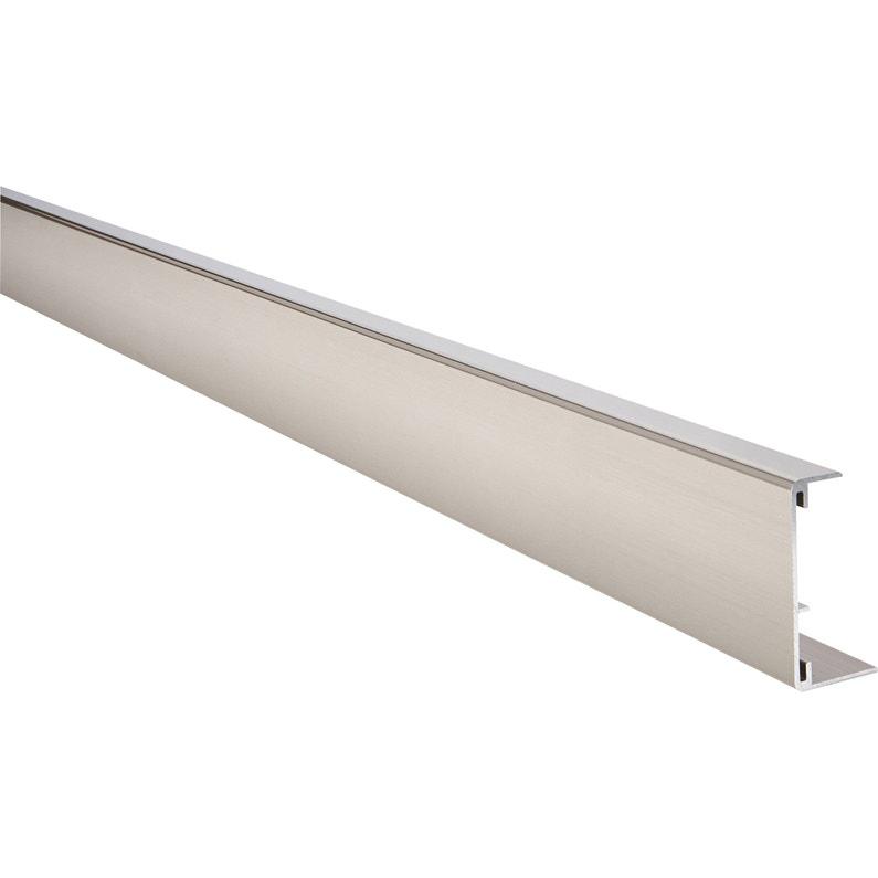 Profil De Chant Reno Plan Aluminium Brosse Leroy Merlin