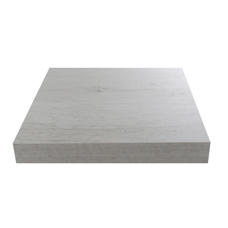 Comment Couper Plan De Travail Stratifié plan de travail stratifié planky blanc mat l.315 x p.65 cm, ep.38 mm
