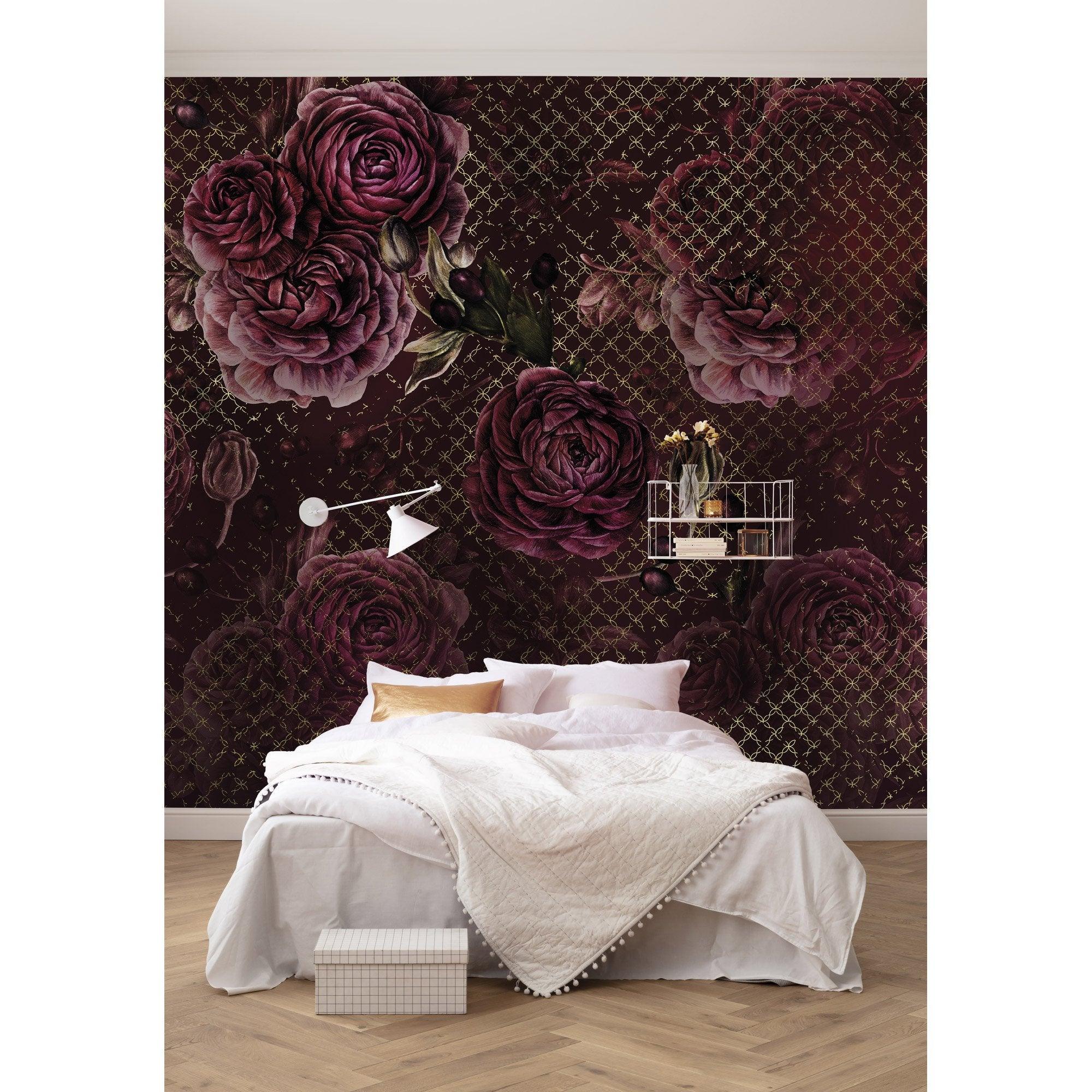Chambre Baroque Noir Et Violet déco chambre baroque - mon coach déco leroy merlin