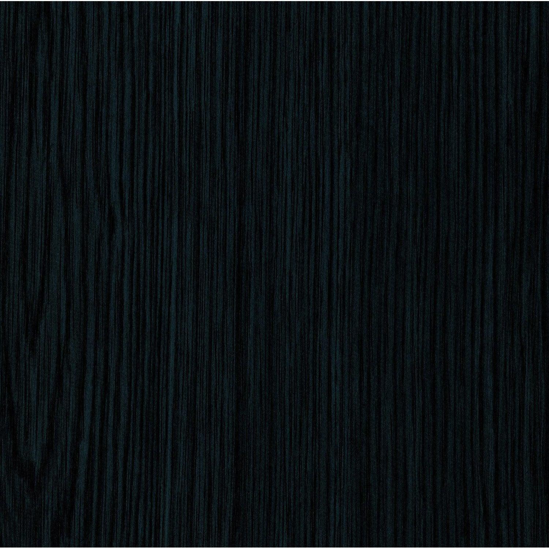 Rev Tement Adh Sif Bois Noir 2 M X 0 67 M Leroy Merlin ~ Adhesif Imitation Bois Pour Porte