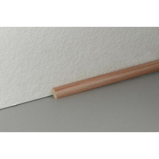 quart de rond sol stratifi effet h tre 3 frises cm x x mm leroy merlin. Black Bedroom Furniture Sets. Home Design Ideas